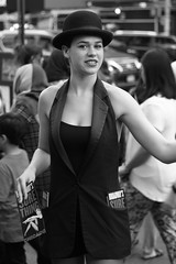 Sure Thing-IMG_0848ps (djhuisken3) Tags: timessquare bnw