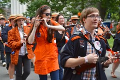 The Band Leads The P-Rade