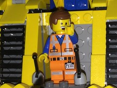 Everything Is Awesome!!! (splinky9000) Tags: toys kingston ontario the lego movie emmett minifigure construct o mech