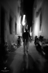soul (Vasilis Tsimitras) Tags: soul night bw black dark nikon rethymno d5100 light road