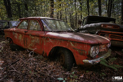 The weakest brother (Abandoned Rurex World.) Tags: automobile abandonnée abandon hdr 2017 urban urbex mga explored abandoned car lost place old vintage decay derelict ue exploration urbaine canon 1022mm 70d forgotten memento mori 1960 chevrolet chevy corvair