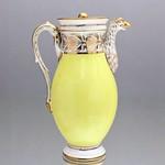 Frankreich, Paris, Kanne, Kaffeekanne, Empire, Gelb, Zitronengelb, Adler, 1800, Napoleon thumbnail