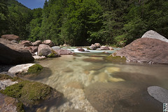 Horrid River #2 (Stokaz) Tags: canon 2017 nd110 nd neutral density filter bw long exposure extreme slow shutter speed 650d sigma 1020 ex dc hsm cascata cascate waterfall silk water orrido della slizza tarvisio