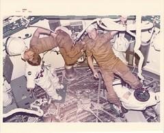 sl1_v_c_o_TPMBK (SL2-3-211) (apollo_4ever) Tags: zerog earthorbit skylab1 skylab2 pressuresuit evasuit spacesuit spacestation paulweitz peteconrad shirtsleeveenvironment weightless weightlessness ows orbitalworkshop skylab skylaborbitalworkshop skylabspacestation projectskylab skylabprogram