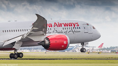 Kenia Airways 787-8 touching Dutch soil (Nicky Boogaard) Tags: boeing airbus aviation dmaviation aircanada klmcityhopper aa americanairlines kalittaair deltaairlines 787 dreamliner easyjet a319 747 freigther 747400 777200 77w 7878 7879 embrear e175 jetairways united keniaairways
