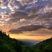 Oconaluftee Blue And Gold [EXPLORED] (Travis Rhoads) Tags: 2017 sonyilce7rm2a7rii zeissbatis18mmf28 reallyrightstuff bh55 rrspcl01 tvc33 clouds goldenhour landscapephotography nationalpark nikcollectionbygoogle sunrise dawn thegoldenhour trees copyright2017 travisrhoadsphotography mountains northcarolina greatsmokymountainnationalpark