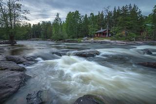 Kymi river
