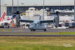 US Marines V-22 Osprey 07 YSSY-8376 (A u s s i e P o m m) Tags: v22 osprey v22osprey usmarines sydneyairport syd yssy mascot newsouthwales australia au