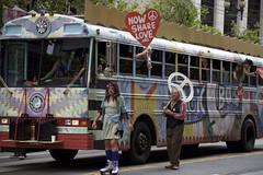 Now Share Love (Generik11) Tags: bus people pride parade pride2017 celebration protest sf sfist