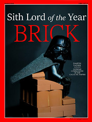 Sith Lord of the Year (RagingPhotography) Tags: lego star wars galactic empire imperial brick sith lord year supreme commander darth vader magazine minifigure minifig figure plastic toy donald trump politics news newspaper journalism republican democratic election nobody cares ragingphotography