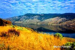 Canada (British Columbia): Kamlops Lake, near Kamloops (mariofalcetti) Tags: canada britishcolumbia kamlopslake kamlops lake lago water acqua landscape paesaggio