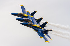 US Navy F-18 Blue Angels @ 2017 NY Air Show (JMFusco) Tags: stewartinternationalairport aircraft hornet airplane f18 newyorkairshow2017 blueangels usnavy hornets aviation usn fa18hornet