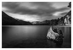 the shadows and lights of ullswater (akh1981) Tags: mountains mono lake landscape lakedistrict longexposure ullswater wideangle black white trees travel outdoors clouds nisi nikon manfrotto sky water