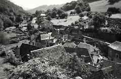 Estaing en Aveyron , ses toits (jacques.missud) Tags: estaing toits village aveyron rouergue noiretblanc blackwhite roofs 7dwf