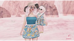 191 ʚ Seeing Double ɞ (Bella Parker) Tags: wildflowers empire secondlife sl slfamily toddleedoo toddler toddleedoofair td tdfashion tdblog tdfair tdposes familypose mother mamame matching maitreya truth birdy blues noodles