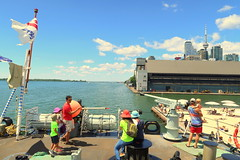 HMCS Toronto Tour (Redpath Waterfront Festival) (wyliepoon) Tags: downtown toronto hmcs ship halifax class frigate canadian forces royal navy redpath waterfront festival 2017 canada day 150 canada150 harbourfront harbour sugar beach east bayfront
