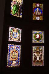 Castle stained glass (quinet) Tags: 2017 antik blasons copenhagen danishmuseumofnationalhistory frederiksborgcastle glasmalerei wappen ancien antique coatsofarms museum stainedglass vitrail zealand denmark