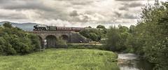 Over the River (4486Merlin) Tags: 60103 bridge buildings england europe exlner flyingscotsman heritagerailways landscape lnerclassa3 northyorkshire railways riversandcanals settlecarlislesc steam transport unitedkingdom gargrave gbr waverley rytc wcrc