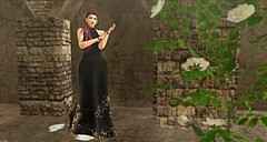 Gretel (Sannita_Cortes) Tags: secondlife sl styles virtualworld virtualfashion fashion female analogdog larahurley avada lelutka maitreya kibdesigns lostfound the avanue hairfair lyrium it indulgetemptation formal gown dress bracelet