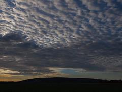 Wolkenfeld (reuas ogni) Tags: landscape landschaft wolken cloud clouds himmel sky isoz olympus zuiko licht schatten light shadow sonnenaufgang sunrise blue blau