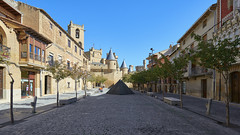 Palacio Real de Olite (neoBIT) Tags: ancient alley architecture building castle center cityscape decoration downtown exterior facade heritage historical landmark medieval monument outdoor picturesque scenic square street tower traditional urban wife gothic beire navarra spain olite