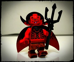Mr. Lucy Fur (Korpsical666) Tags: lucifer devil hell minifigure lego satan custom