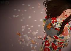 Sayuri... (Marissa Almodovar Corleone) Tags: gabriel baroque japonica kimono doll avatar theme event sayuri geisha pretty sakura