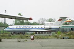 CCCP-42331 Yakovlev Yak-42 Aeroflot (pslg05896) Tags: bka uubb moscow bykovo cccp42331 yakovlev yak42 aeroflot