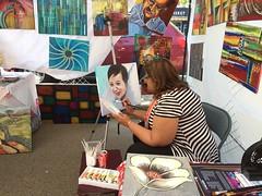 Whyte Avenue Art Walk 2017 (livingsanctuary) Tags: art edmonton yeg yegarts whyteavenue artwalk painters artists