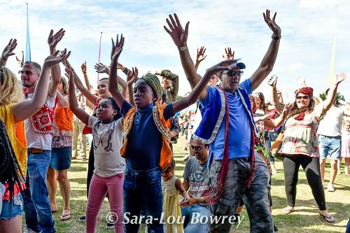 Crowds at Village Green  2017