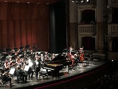 Teatro San Carlo di Napoli, Mozart Concerto K595 (May 2017)