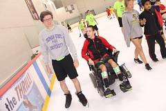 IMG_9283 (varietystl) Tags: summercamp wheelchair afos legbraces afobraces anklefootorthotics orthotics iceskating electricwheelchair