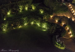 Night lights in a garden (husiengha) Tags: garden light night istanbul hotel beautiful nikon d5500