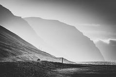 Twilight (yrrgeirs) Tags: iceland mountain mountainview twilight blackwhite