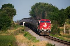 CP 8630 (shawn_christie1970) Tags: medina minnesota unitedstates us train railroad cp8630 mp18 ge ac44cw summer evening canadianpacificrailway