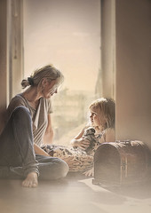 just the two of us (jelena_simicpetrovic) Tags: motherhood mother littlegirl