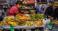 2017 - Korea - Incheon City - 15 of (Ted's photos - For Me & You) Tags: 2017 cropped korea nikon nikond750 nikonfx seoul tedmcgrath tedsphotos vignetting incheon incheonkorea sinpointernationalmarket food market people