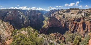 *Zion @ Observation Point - Panorama*