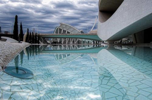 Reflejos en la Ciudad de las Artes y las Ciencias - 1