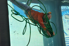 hose (greenelent) Tags: climatechange water art science worldsciencefestival timessquare nyc