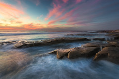 Ocean Song (David Colombo Photography) Tags: lajolla california pacific ocean reef sunset rocks water waves clouds vibrant color landscape seascape davidcolombo d800 davidcolombophotography