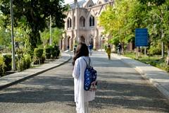 GC university (saaafaa) Tags: lahore gcu gculahore girl universitylife graduation bag study lifeofstudent pakistan safa photographer gothic architecture roadway roadtosuccess