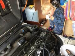 Mika (HarmvVugt) Tags: lt35 lt camper motor acl engine mika