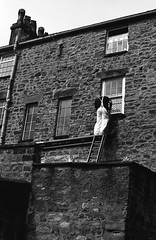 George Formby? Ferrania P30 pyrocat HD (Man with Red Eyes) Tags: meta35 p30 p30alpha ferrania 80iso pyrocathd 11100 70f semistand v850 nikonf6 slr 50mmf12 ai analog analogue blackwhite bnw silverhalide monochrome film filmtest filmisnotdead filmtilidie 35mm lancaster lancashire northwest painter ladder painting