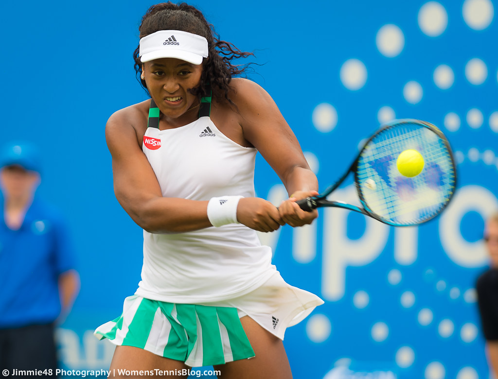 Naomi Osaka: PHOTOS From The Aegon Classic: Mixed Results For British