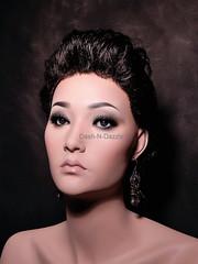 Krista (dashndazzle) Tags: dashndazzle mannequin makeup glass eyes krista