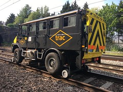 (Sam Tait) Tags: trac track plant rev rrv road rail vehicle man rider carrier 4x4 railway mounted london