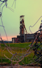 Clipstone Colliery... (Michael's pics... (The Amateur Wanderer 28DL)) Tags: clipstone colliery notts mansfield coal field board national headstock abandoned ncb