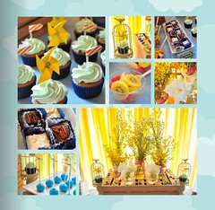 Summer Garden Theme Collage (sweetsuccess888) Tags: desserttable dessertbar dessertbuffet eventsstyling desserts summer garden picnic summerparty picnicparty cupcakes philippines
