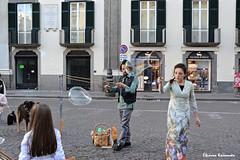 Naples, Italy (Eleanna Kounoupa) Tags: ιταλία νάπολη italy italia naples napoli ιστορικόκέντρο historicalcenter hccity street δρόμου γρανίτα waterice φούσκεσ φουσκάλεσ blistering bubbles